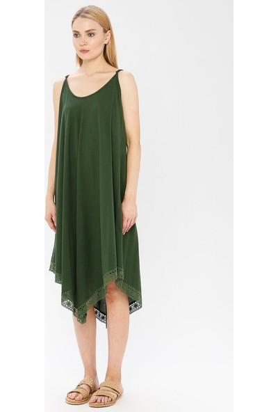 Elis Şile Bezi Kadın Şile Bezi Pareo Elbise