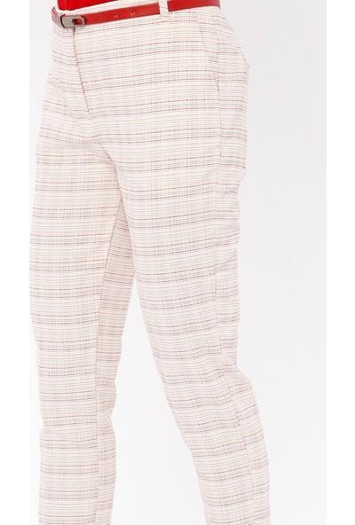 Sln Kadın İnce Kemerli Pantolon