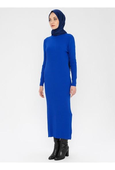 Erl Kadın Boğazlı Triko Elbise