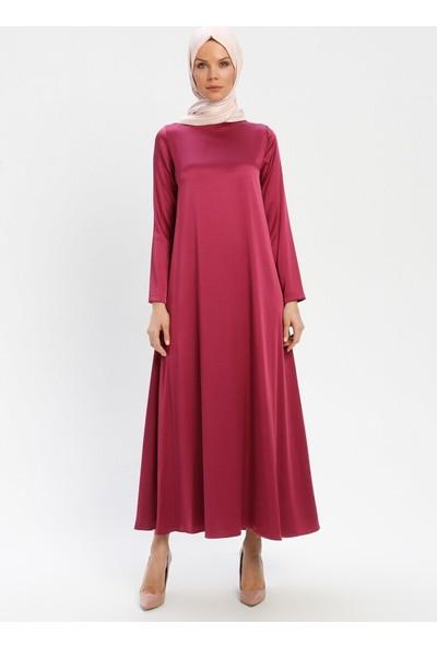 Tuğba Kadın Boncuk Detaylı Tüllü Elbise