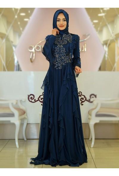 Gamze Özkul Kadın Elegance Abiye Elbise