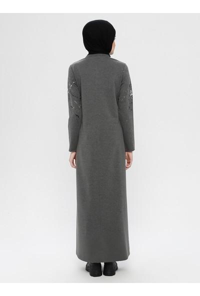 Sportify Kadın Baskılı Uzun Elbise