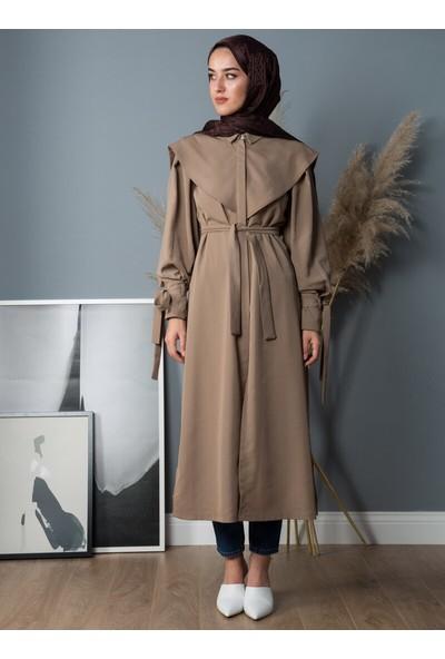 Liolle Kadın Kuşaklı Trençkot