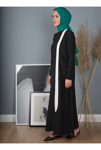 Liolle Kadın Fular Detaylı Elbise