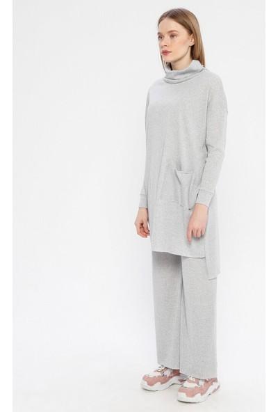Çat Pat Tekstil Kadın Tunik& Pantolon İkili Takım
