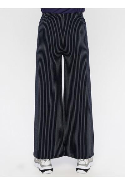 Çat Pat Tekstil Kadın Çizgili Pantolon
