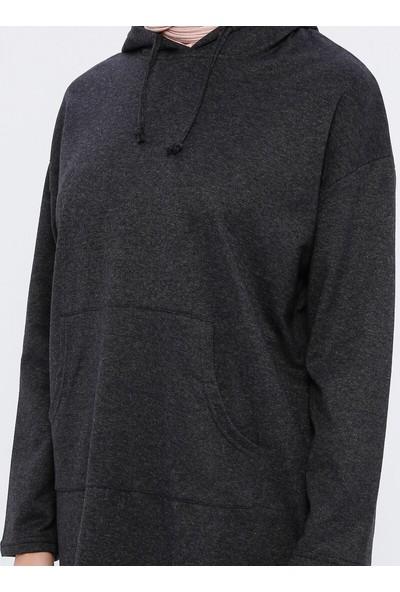 Çat Pat Tekstil Kadın Cep Detaylı Tunik
