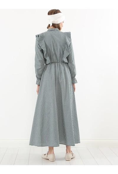 Liolle Kadın Chia Pötikare Elbise