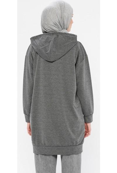 Marwella Kadın Kapüşonlu Sweatshirt