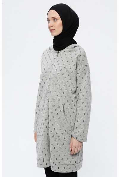 Çat Pat Tekstil Kadın Kapüşonlu Kap