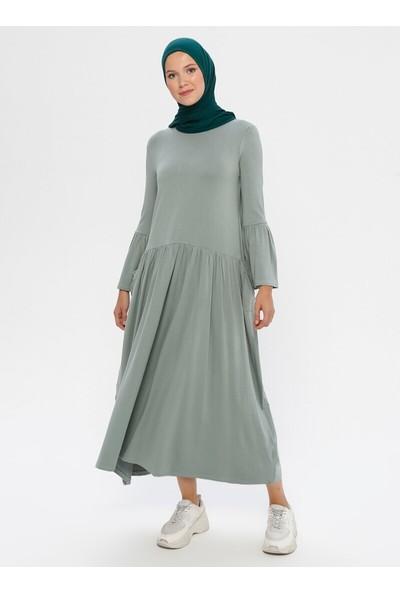 Peker Kadın Yandan Cepli Elbise