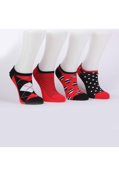 Mim Çorap Kadın 4`lü Patik Çorap
