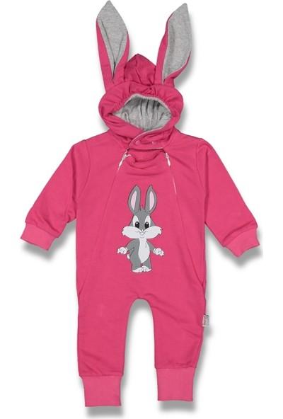 Murat Baby Tavşanlı 2 Fermuarlı Tulum