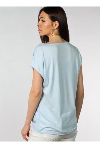 Pinkmark Desenli Harf Baskılı Bluz