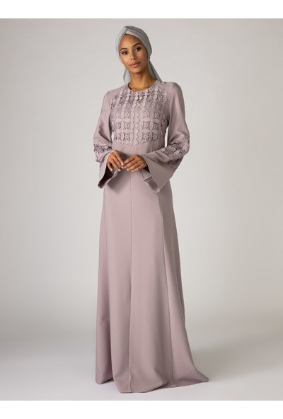 Mwedding Nakış Detaylı Abiye Elbise