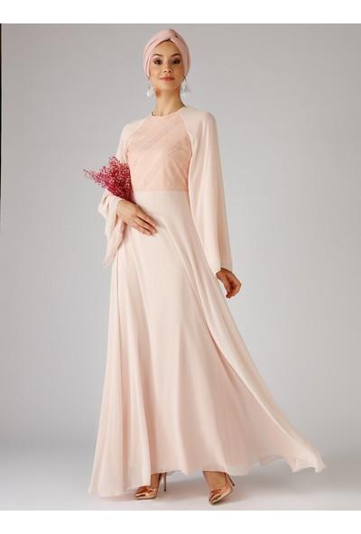Mwedding Şifon Abiye Elbise