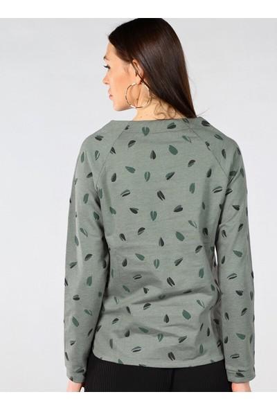 Pinkmark Desenli Sweatshirt