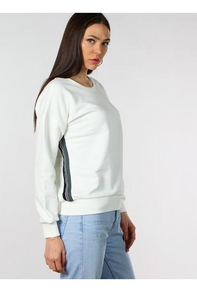 Pinkmark Yanları Şeritli Sweatshirt