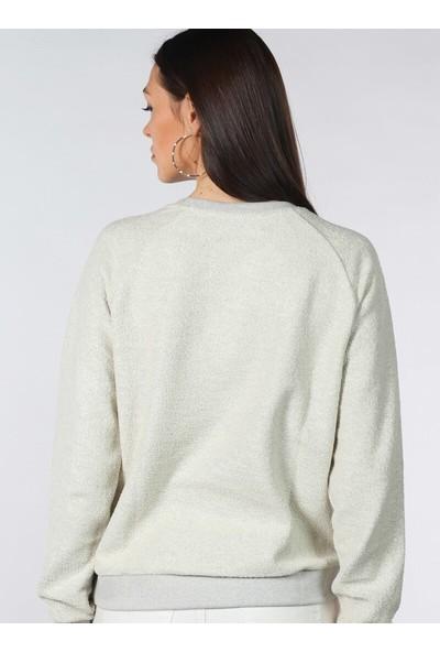Pinkmark Baskılı Sweatshirt