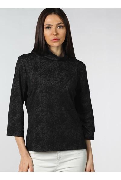 Pinkmark Jakarlı Sweatshirt