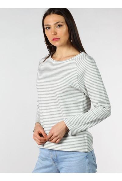 Pinkmark Çizgili Sweatshirt
