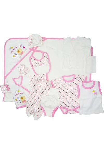 Daisymini 11'li Kız Bebek Hastane Çıkışı Yeni Doğan Set