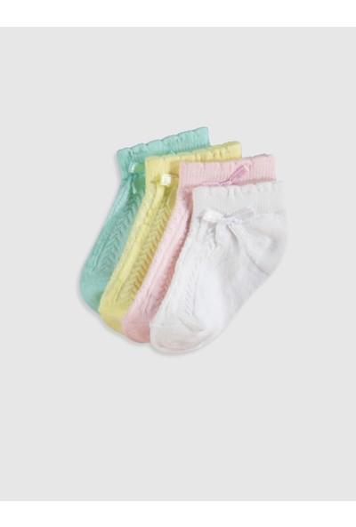 LC Waikiki Kız Bebek Çorap 4'lü