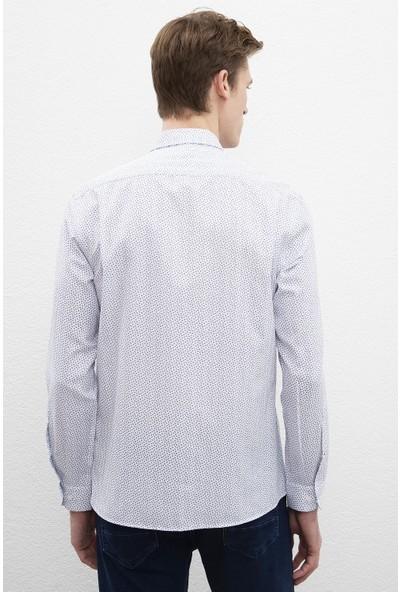U.S. Polo Assn. Erkek Dokuma Gömlek 50219838-Vr013