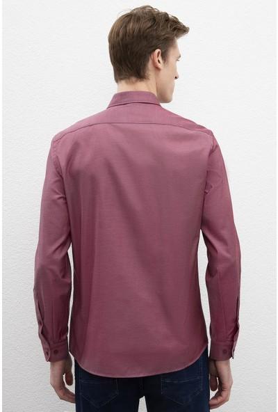 U.S. Polo Assn. Erkek Dokuma Gömlek 50220220-Vr014