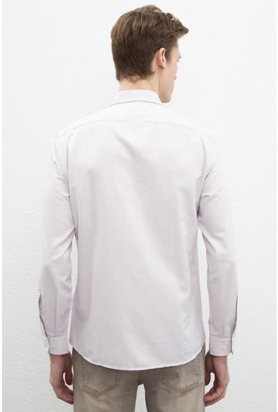 U.S. Polo Assn. Erkek Dokuma Gömlek 50220224-Vr014