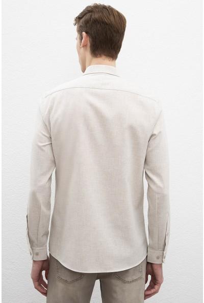 U.S. Polo Assn. Erkek Dokuma Gömlek 50220233-Vr019