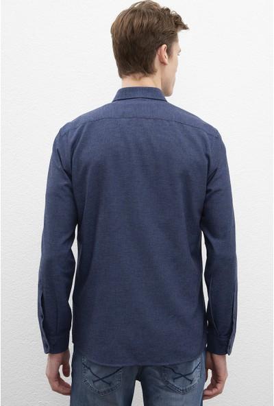 U.S. Polo Assn. Erkek Dokuma Gömlek 50220233-Vr045