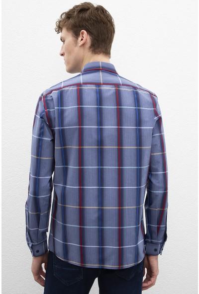 U.S. Polo Assn. Erkek Dokuma Gömlek 50219833-Vr033
