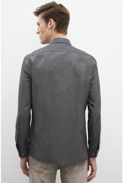 U.S. Polo Assn. Erkek Dokuma Gömlek 50219893-Vr006