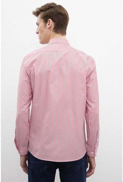 U.S. Polo Assn. Erkek Dokuma Gömlek 50219939-Vr030