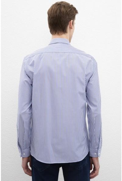 U.S. Polo Assn. Erkek Dokuma Gömlek 50219939-Vr033
