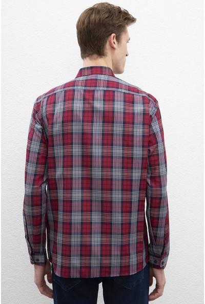 U.S. Polo Assn. Erkek Dokuma Gömlek 50219995-Vr014