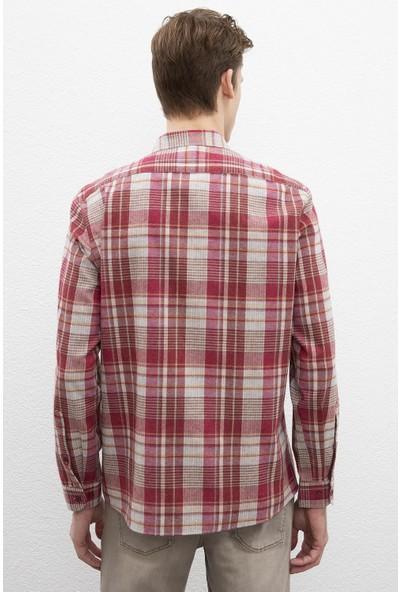 U.S. Polo Assn. Erkek Dokuma Gömlek 50220098-Vr014