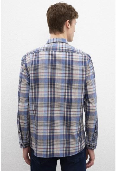 U.S. Polo Assn. Erkek Dokuma Gömlek 50220098-Vr036