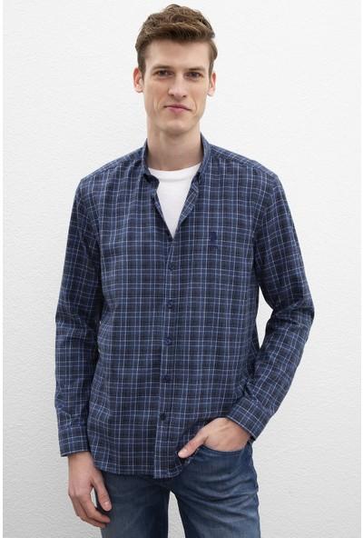 U.S. Polo Assn. Erkek Dokuma Gömlek 50220101-Vr033
