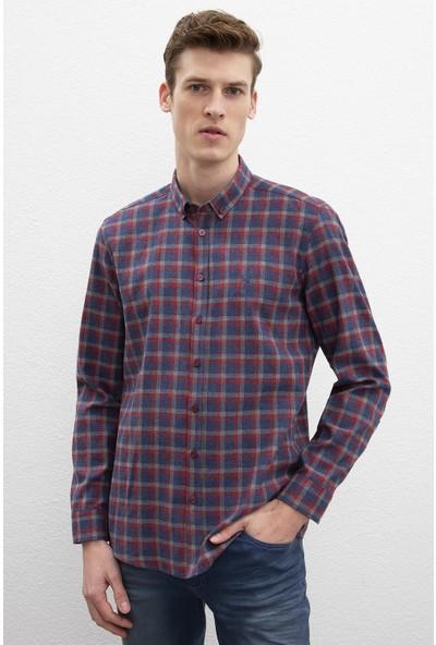 U.S. Polo Assn. Erkek Dokuma Gömlek 50220111-Vr014