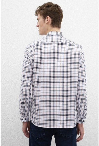 U.S. Polo Assn. Erkek Dokuma Gömlek 50220134-Vr033