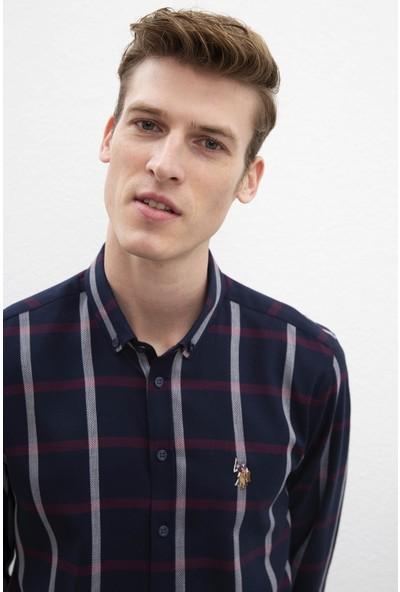 U.S. Polo Assn. Erkek Dokuma Gömlek 50220245-Vr014