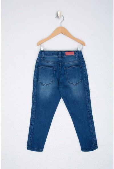 U.S. Polo Assn. Kız Çocuk Denim Pantolon 50208972-Dn0023