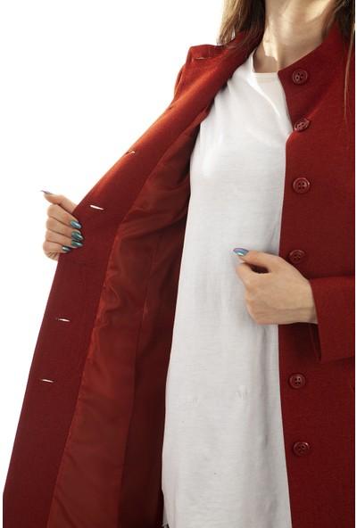 Arda New Line Kadın Kiremıt Kaban 0105039.48