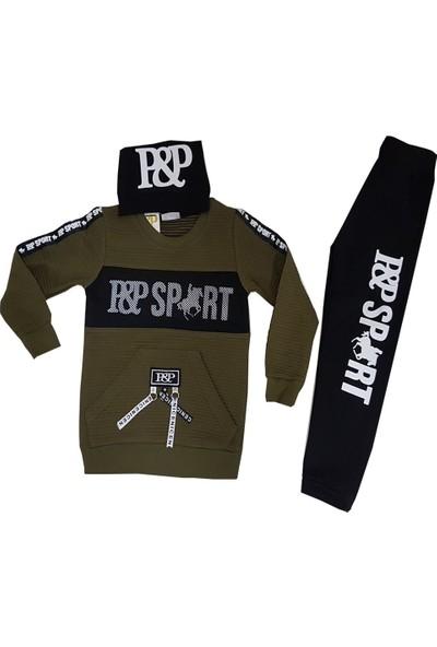 Plt Sport Şapkalı Erkek Çocuk Takım 6-9 Yaş