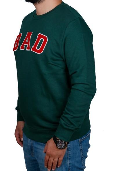 Bad Bear Yeşil Erkek Sweatshirt