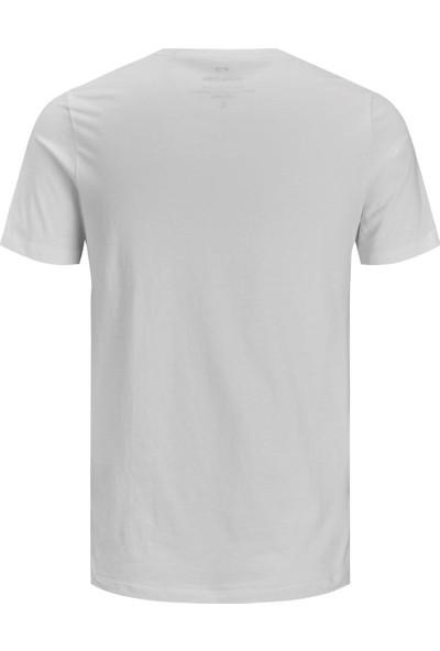 Jack&Jones Essentials Jjecorp Logo Tee T Shirt Erkek T Shirt 12151955