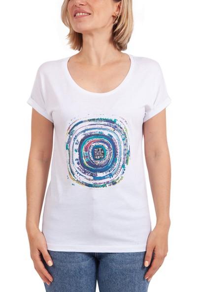 Biggdesign Nazar Beyaz T-Shirt
