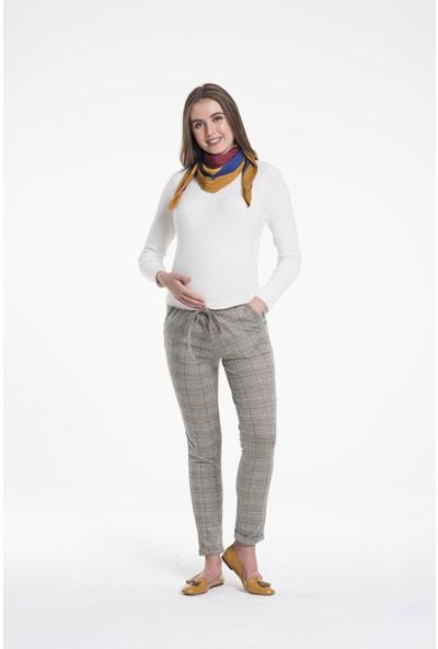 Lyn Devon Kadın Mis Pantolon Kahve